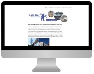 glazenwasser website maken